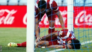 Diego Costa was brutally fouled in Atletico vs Getafe clash in the past