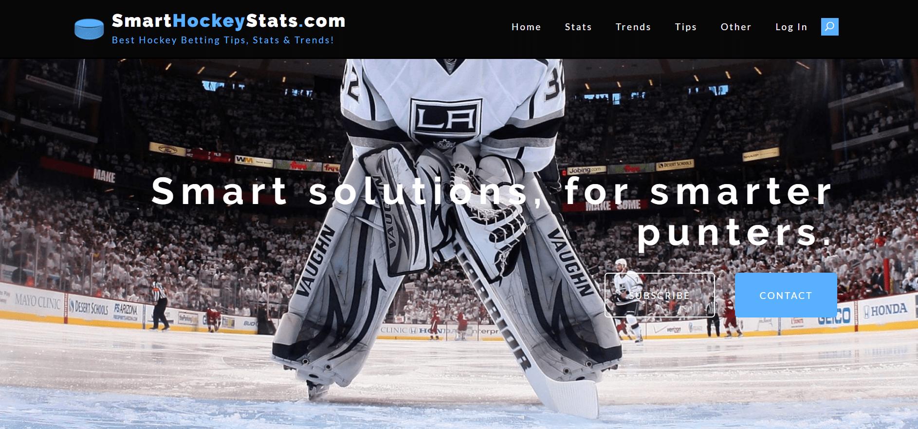 Smart Hockey Stats